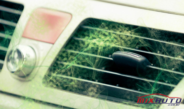 Fungos no ar-condicionado automotivo