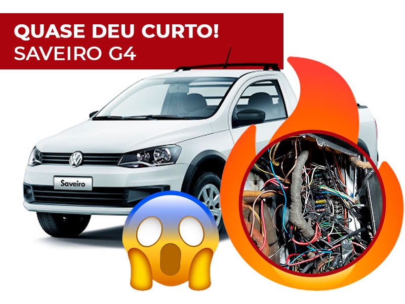 Caso Real: O carro quase sofre curto-circuito (Saveiro G4 Turbo)