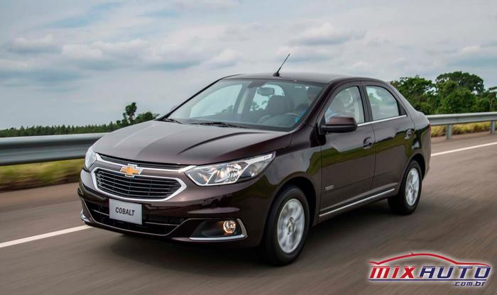 Entre os carros que saíram de linha em 2020, temos o Chevrolet Cobalt
