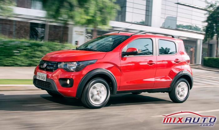 Fiat Mobi Drive Vermelho