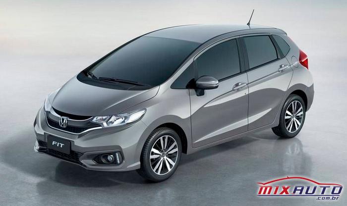 Honda Fit grafite