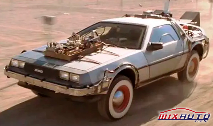 """Carro do filme """"De volta para o futuro"""""""