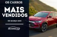 Carros mais vendidos em março 2021: Lista completa