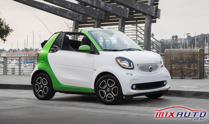 Carro sustentável Smart ForTwo Electric Drive Convertible