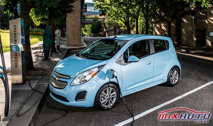 Carro sustentável Spark EV Chevrolet