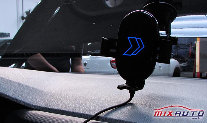 Carregador por indução da Faaftech instalado na Mix Auto Center