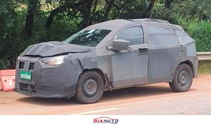 Novo SUV Fiat 363 flagrado em Minas Gerais