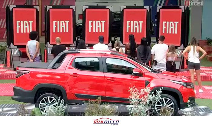 Prova do Anjo do BBB21 patrocinada pela Fiat