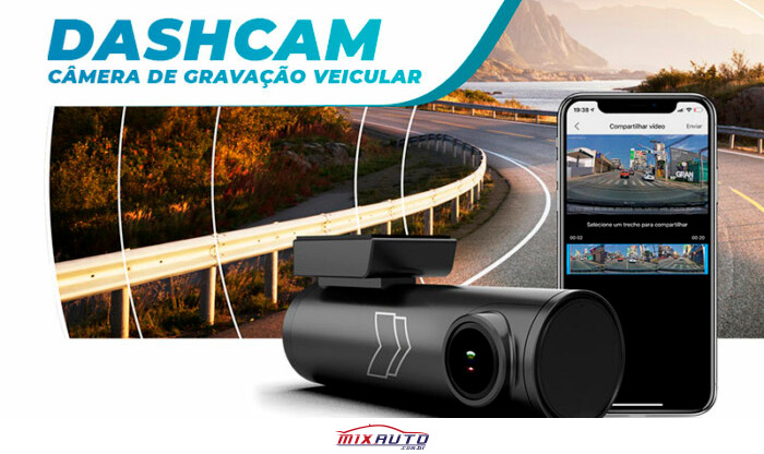 Dashcam câmera de gravação veicular da Faaftech